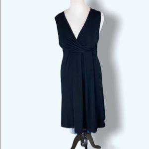Emma James Sleeveless Black Dress Size PXL